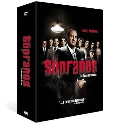 THE SOPRANOS 1-6 (1999-2007) COMPLETE Drama TV Seasons Series  NEW R2 DVD not US