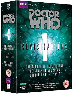 DR WHO REVISITATIONS V1 091 136 1996 Doctors Tom Baker Peter Davison Paul McGann