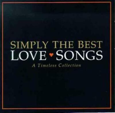 Various Artists : Simply the Best Love Songs CD Expertly Refurbished Product