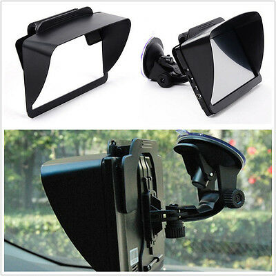 "Auto Windshield 6-7"" GPS Sun Shade Visor Screen Shield Reflection Resist Clip"