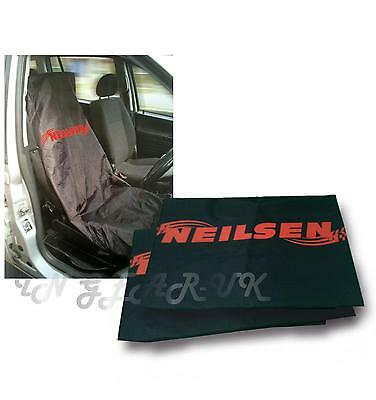 2x Water Resistant Nylon Front Car Van Seat Protector Cover Heavy Duty Universal