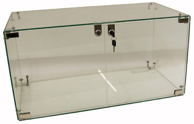 Glass Cube Display Cabinet 800X400X400mm