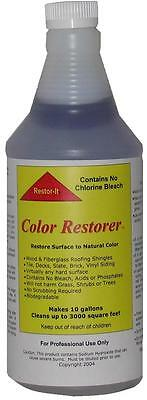 Roof & Deck cleaner concentrated outdoor cleaner for asphalt shingles-wood 1 Gal