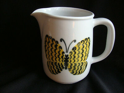 Mid Century Arabia Finland Large Butterfly Pitcher