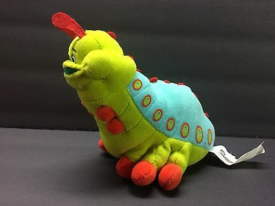 Official Disney Pixar A Bugs Life Heimlich Plush Beanie Bean bag plush