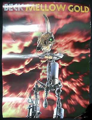 BECK Mellow Gold 1994 US ORG Promo Only POSTER Bong Load HANSEN