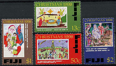 Fiji 1998 SG#1036-9 Christmas MNH Set #A87285