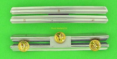 6  RIBBON HOLDER MOUNTING BAR RBH06 - U.S. Military Rack made in the USA