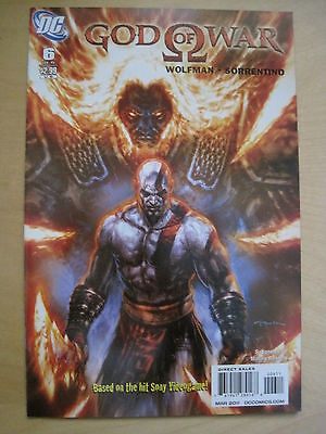 GOD of WAR 6. BASED ON THE SONY VIDEO GAME. By WOLFMAN & SORRENTINO.DC / WS.2010