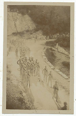 Troops marching out of Mankote Barracks Dalhousie Punjab