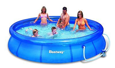 """Swimming Pool Garden & Filter Set Paddling Outdoor Bestway Fast Family 12""""x30"""""""