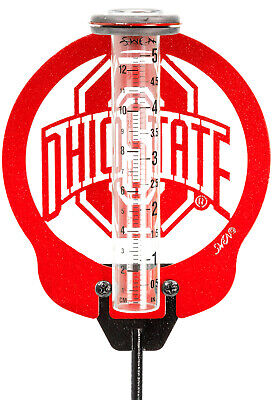 SWEN Products OHIO STATE BUCKEYES Rain Gauge