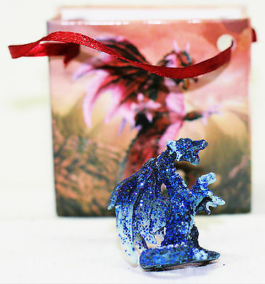 Gothic Dragon In Gift Bag Assorted Designs Nice Detail On Dragons NEW Great Gift