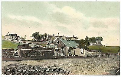 POSTCARD-SCOTLAND-ARBROATH-PTD. The Old Toll House, Dundee Road.