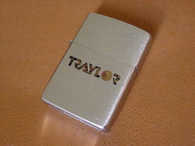 Vintage Zippo Lighter ...... Traylor Brothers