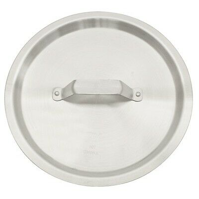 Thunder Group 160-Quart Aluminum Stock Pot Lid with Handle in Silver Finish New