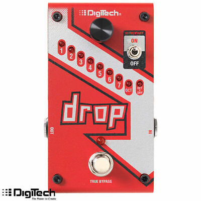 DigiTech Drop Guitar Effect Polyphonic Drop Tune Pitch Shifter Pedal