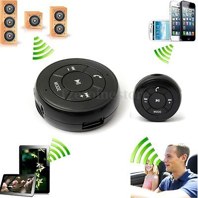 Wireless Car AUX Bluetooth 3.5mm Hands Free Music Receiver Card Reader FM + USB