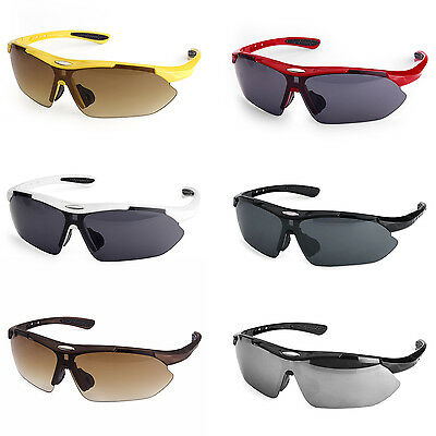 Mens Bicycle Bike Cycling Outdoor Sports Sunglasses Eyewear Driving Glasses