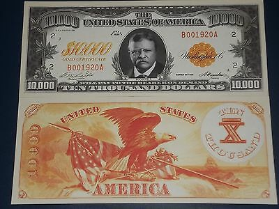 Uncirculated United States Ten Thosand Dollar Gold Certificate Note!