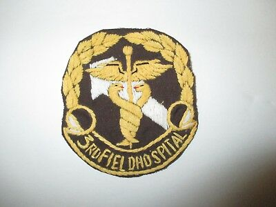 B5741 US ARMY Vietnam 3rd Field Hospital Saigon IR38E
