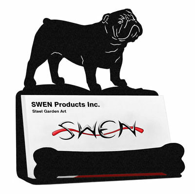 SWEN Products BELGIAN SHEEPDOG Black Metal Business Card Holder