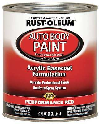 Performance Red Auto Body Paint, 253502, Rust-Oleum