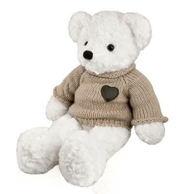 Perfect Memorials Large Teddy Bear Cremation Urn White