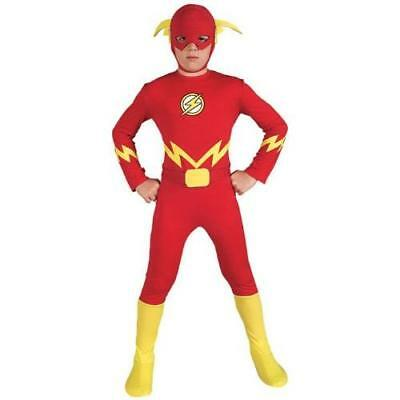 Justice League The Flash Child's Costume, Medium New