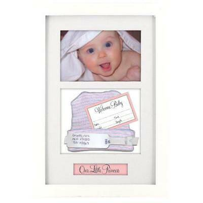 Malden International Designs Baby Memories Baby Memoto Shadowbox Picture Frame,
