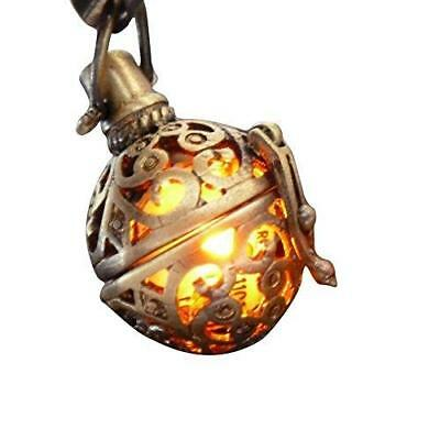 Steampunk FIRE necklace - pendant charm locket jewelry- GREAT GIFT New
