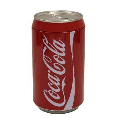 The Tin Box Company Coca Cola Can Bank New