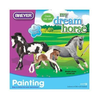 Breyer Painting My Dream Horse w/ 3 Stablemates, Paints & Brush New