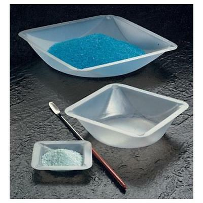 Plastic Square Weigh Boats Small Dish 100pk New