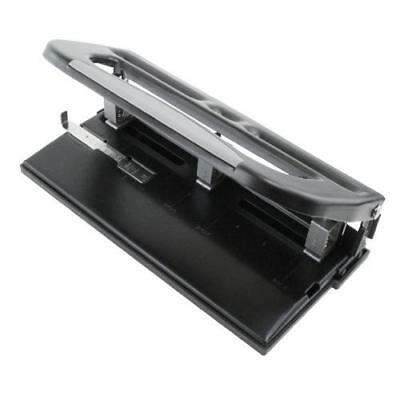 Heavy Duty Adjustable 3-Hole Punch - Up To 30 Sheets! New