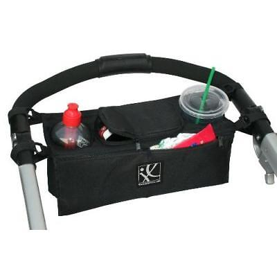 J.L. Childress Sip 'n Safe Console Tray, Black New