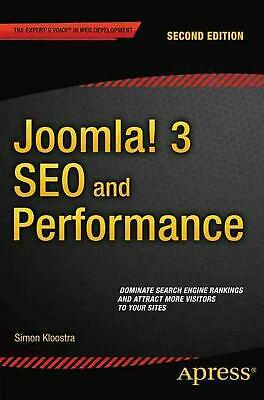 Joomla 3 SEO and Performance by Simon Kloostra (English) Paperback Book Free Shi