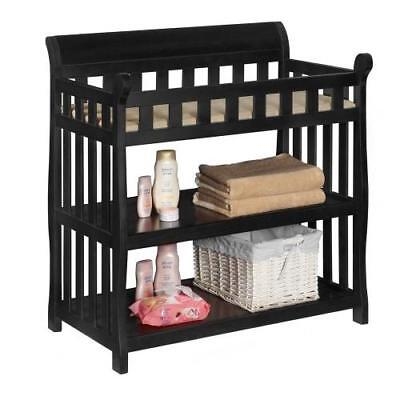 Delta Children Eclipse Changing Table, Black New