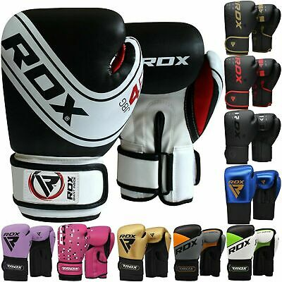 RDX 6oz Kids Boxing Gloves Junior Bag Mitts 4oz Punching MMA Muay thai Training