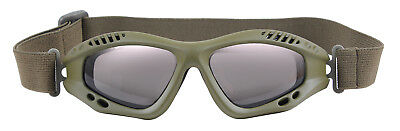 tactical goggles shatterproof sunglasses olive drab rothco 11378