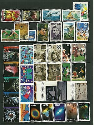 US 2000 Commemorative Year Set with  39 stamps MNH Post Office fresh! #