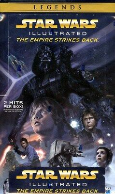 Topps Star Wars Illustrated: The Empire Strikes Back 12 Box Case Blowout Cards