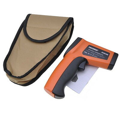 Non Contact IR Infrared Digital Temperature Gun Thermometer Laser Point DT8016H