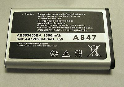 NEW BATTERY FOR SAMSUNG RUGBY 2 A847, RUGBY 3 SGH A997 -Rugby 4 SM-B780A