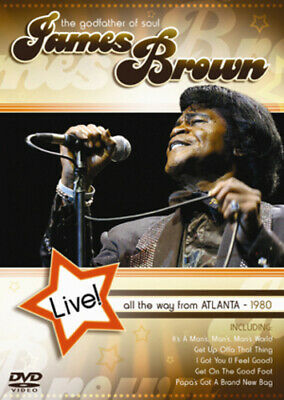 James Brown: All the Way from Atlanta - Live DVD (2006)