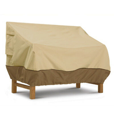 Classic Accessories Patio Love Seat Cover - Large Pebble,Earth,Bark 72932 New