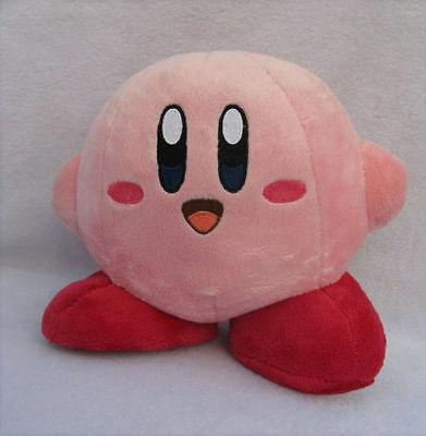 """New 6"""" Nintendo Game Kirby Plush Toy Standing Pose Soft"""
