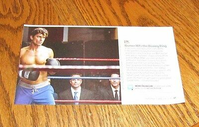 MATT BOMER Shirtless Male 4X8 PINUP Clipping Celebrity Boxing