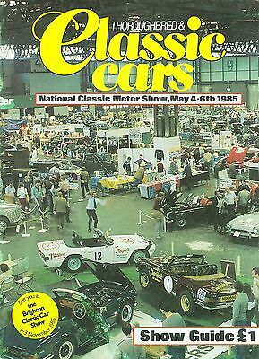 1985 National Classic Motor Show Guide