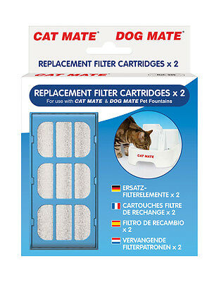 PET MATE REPLACEMENT FILTER CARTRIDGE PACK code 339 ( for Dog & Cat fountains)